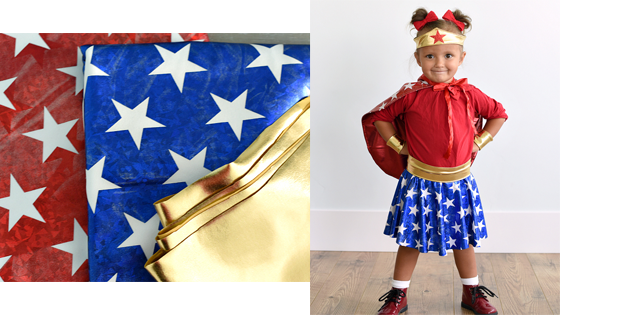 Wonder Woman Costume FREE sewing tutorial