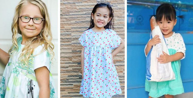 Camden Girls Dress pattern (2t to 14yrs)