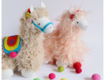 Llama Stuffed Animal Toy sewing pattern
