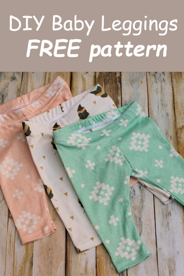 DIY Baby Leggings FREE pattern