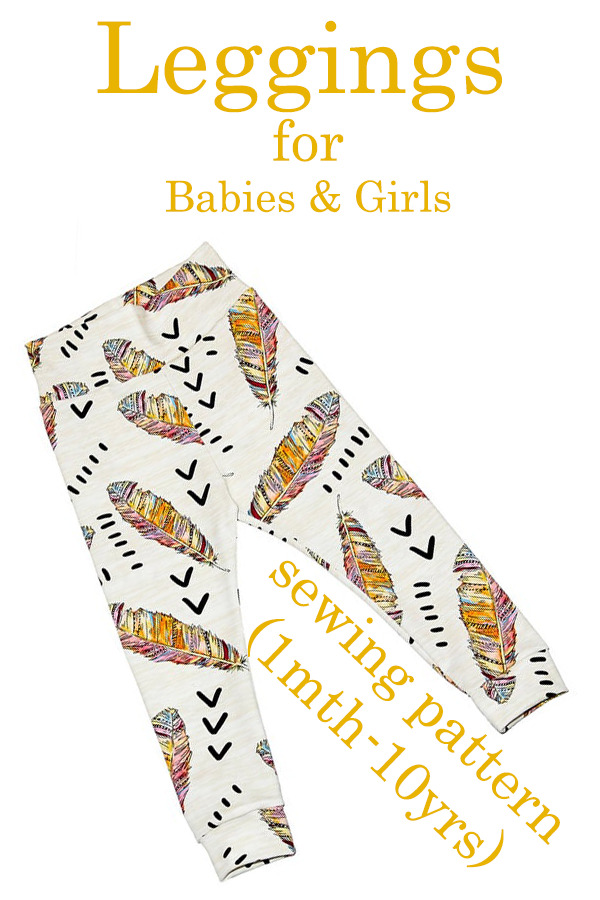 Leggings for Babies & Girls (1mth-10yrs)