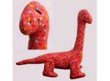 Dippy Dinosaur Soft Toy sewing pattern