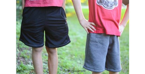 FREE Summer Breezy Boys Shorts sewing pattern (Sz 4-12)
