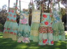 Girls Apron sewing pattern (3-10 years)