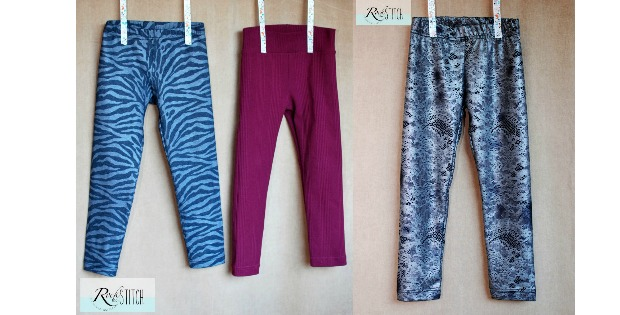 Girl's Basic Leggings FREE pattern (Size 6)