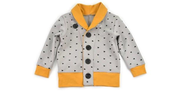 Kids Cardigan sewing pattern (0-3M to 5-6T)