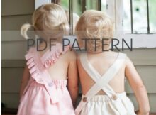 Melbourne Romper sewing pattern