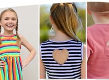 Juliet Dress & Top pattern (3mths-12yrs)