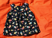 Snappy Toddler Top FREE sewing pattern (6/12mths to 5/6yrs)