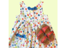 The Maddie Lou Girls Dress pattern (2-6 years)
