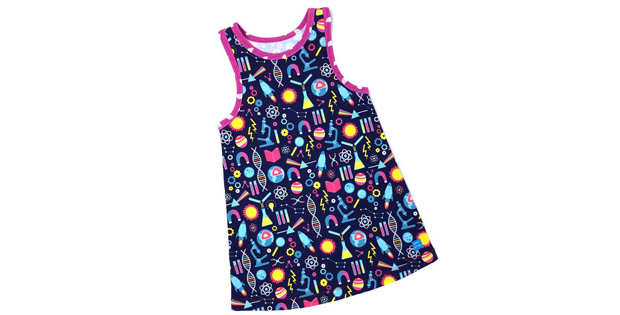 Mia Racerback Girls Dress sewing pattern (preemie to 12 years)
