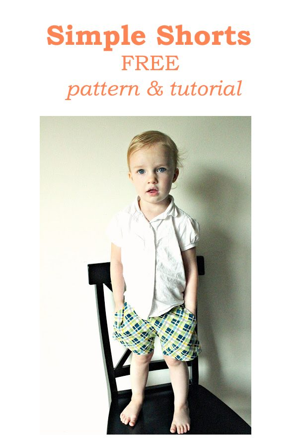 Simple Shorts FREE pattern & tutorial