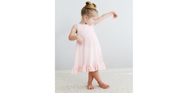 Summer Nightie FREE pattern (size 2/3 toddler)