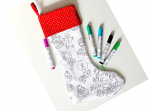 FREE Christmas Stocking sewing pattern