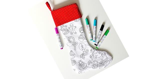 FREE Christmas Stocking sewing pattern
