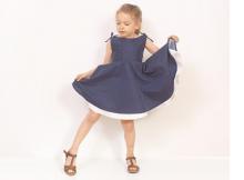 Adria Full Circle Dress sewing pattern (2T-10Y)