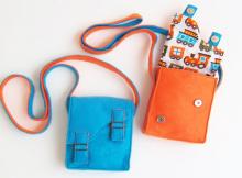 Kids Messenger Bag sewing pattern