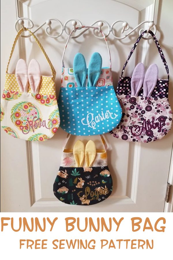 Funny Bunny Bag FREE sewing pattern