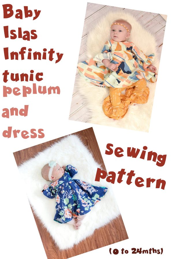 Baby Islas Infinity tunic peplum and dress (0 to 24mths)