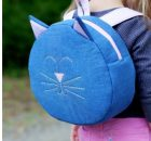 Cat Backpack FREE sewing pattern