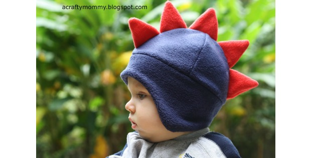 Dino Hat FREE sewing tutorial