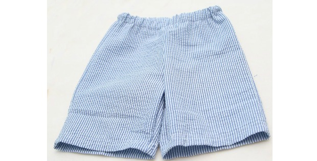 Easy Kid Shorts FREE sewing tutorial