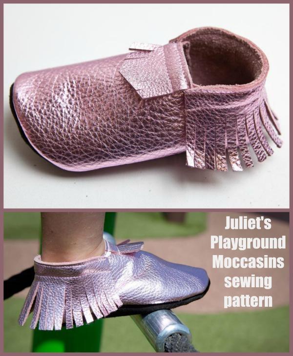 Juliet's Playground Moccasins sewing pattern