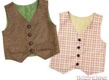 Waistcoat Vest sewing pattern