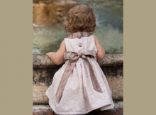 Holiday Dress FREE sewing pattern (18 months)