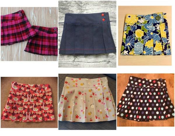 BONNIE WEE Kilt Girls Skirt pattern (0-10 years)
