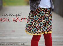 Not So Mini, mini skirt FREE tutorial