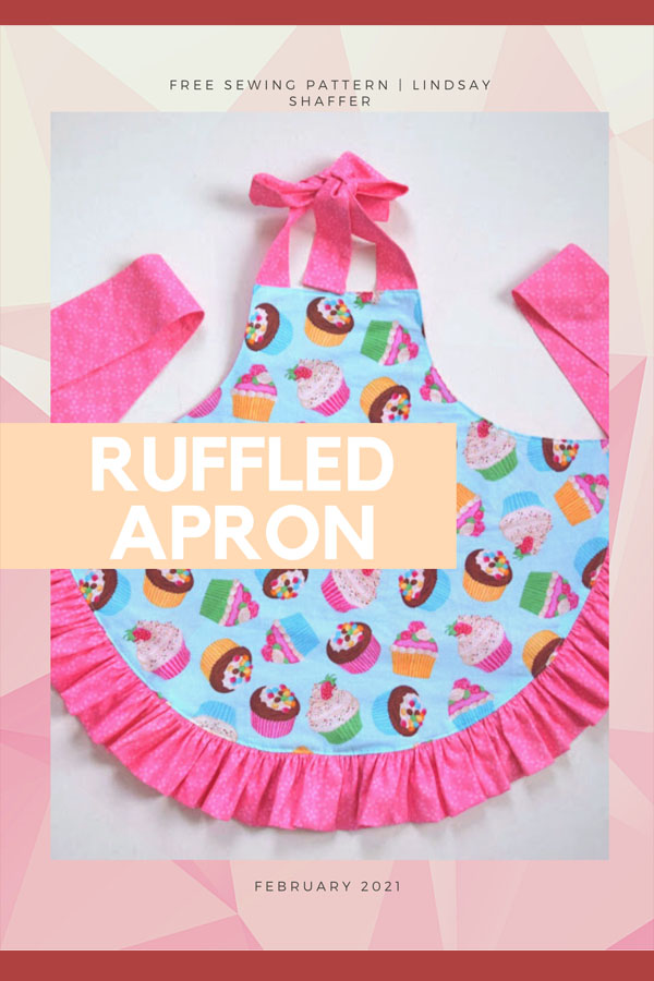 Girl's Ruffled Apron FREE sewing pattern