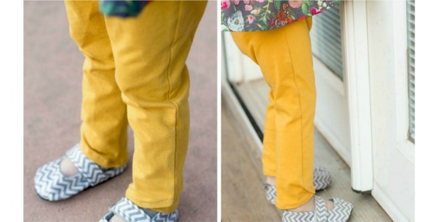 Tulip Leggings FREE sewing pattern (18 month)
