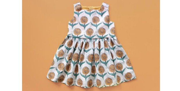 Daisy Dress sewing pattern (0 to 6 years)