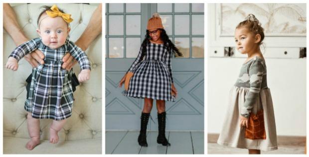 Ellie Dress sewing pattern (Newborn-9/10)
