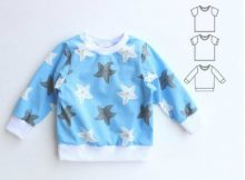 JELLY Sweatshirt / T-Shirt sewing pattern (0-10 years)
