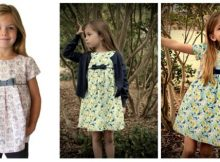 Mia and Moi Girls Dress sewing pattern (3-8yrs)
