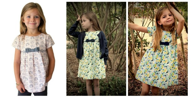 Mia and Moi Girls Dress sewing pattern (3-8yrs)