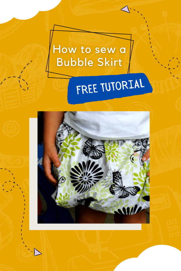 How to sew a Bubble Skirt FREE tutorial