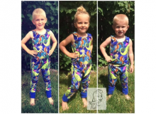 Grow With Me Romper sewing pattern in 3 sizes