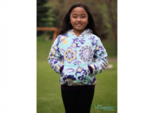 Kids Halftime Hoodie sewing pattern (sizes 2 to 18)