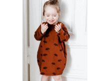 Cocoon Dress sewing pattern (3mths-6yrs)