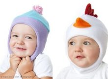 Children's Chin Strap Hat sewing pattern (5 sizes)