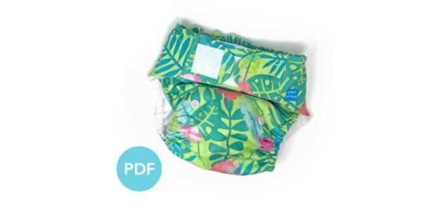 Espen Hybrid AI2 Cloth Diaper FREE sewing pattern