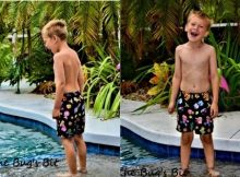 Kids Swim Shorts sewing patterns (size 0-3mths to 14yrs)