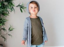 Sewing pattern for a kids Slim Cardigan (Newborn-9/10)