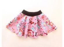 Sewing pattern for the Butterfly Skirt (0-10 years)
