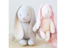 Bunny Rabbit Stuffed Toy sewing pattern
