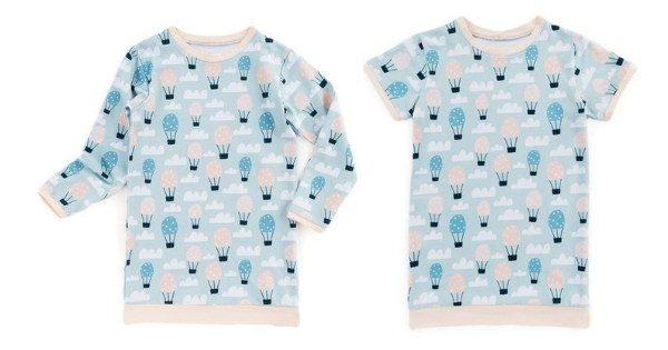 Girls Nightshirt sewing pattern (2 to 10 years)