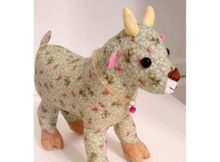 Goat Toy sewing pattern